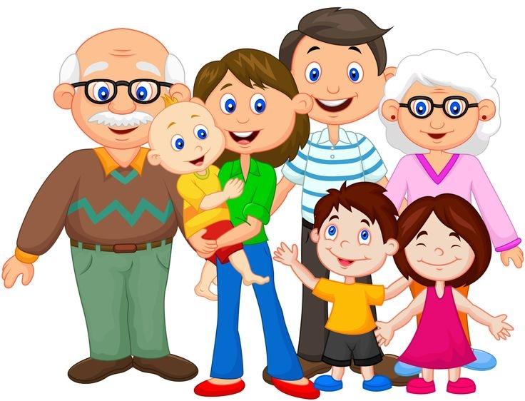 66 happy family clipart