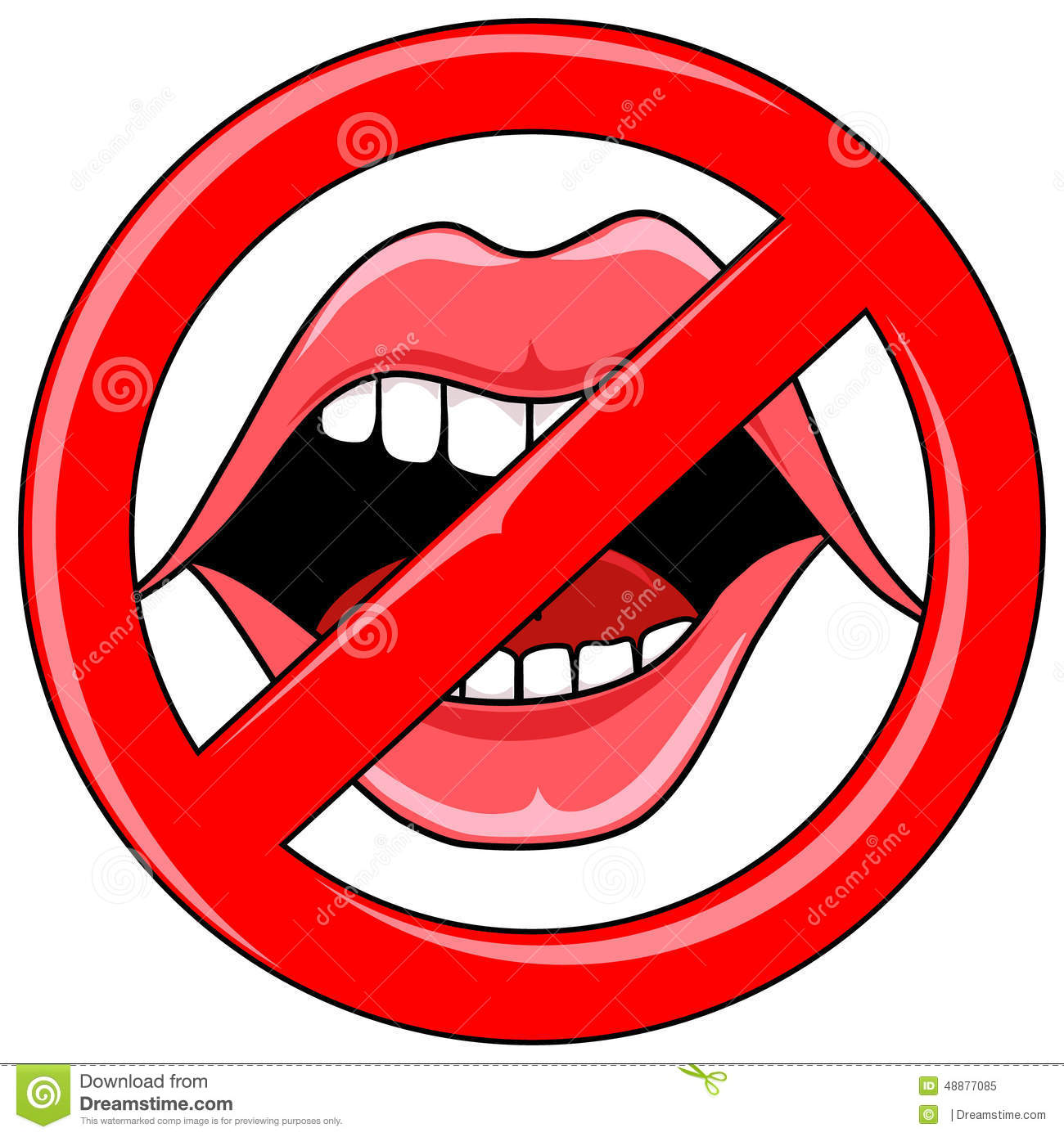 hight resolution of open talking mouth with red b no talking clipart