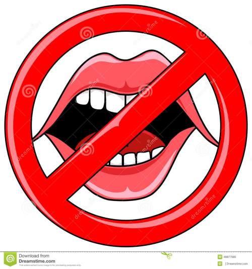small resolution of open talking mouth with red b no talking clipart
