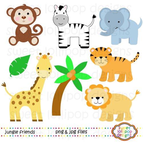 small resolution of paper size zoo border clipart safari animal clipart