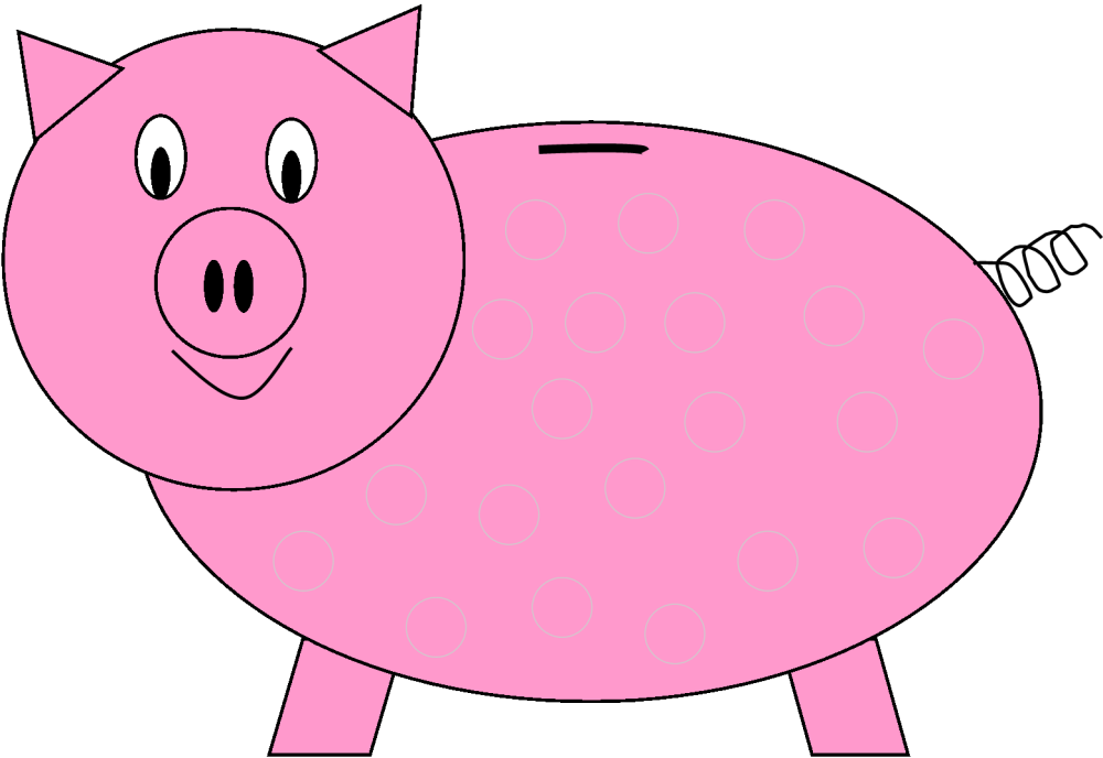 medium resolution of piggy bank bank 3 clipart