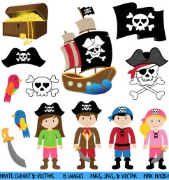 pirate clipart clip art and vectors commercial and by pinkpueblo [ 1432 x 1500 Pixel ]