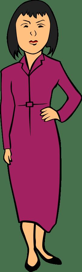 woman clipart & clip
