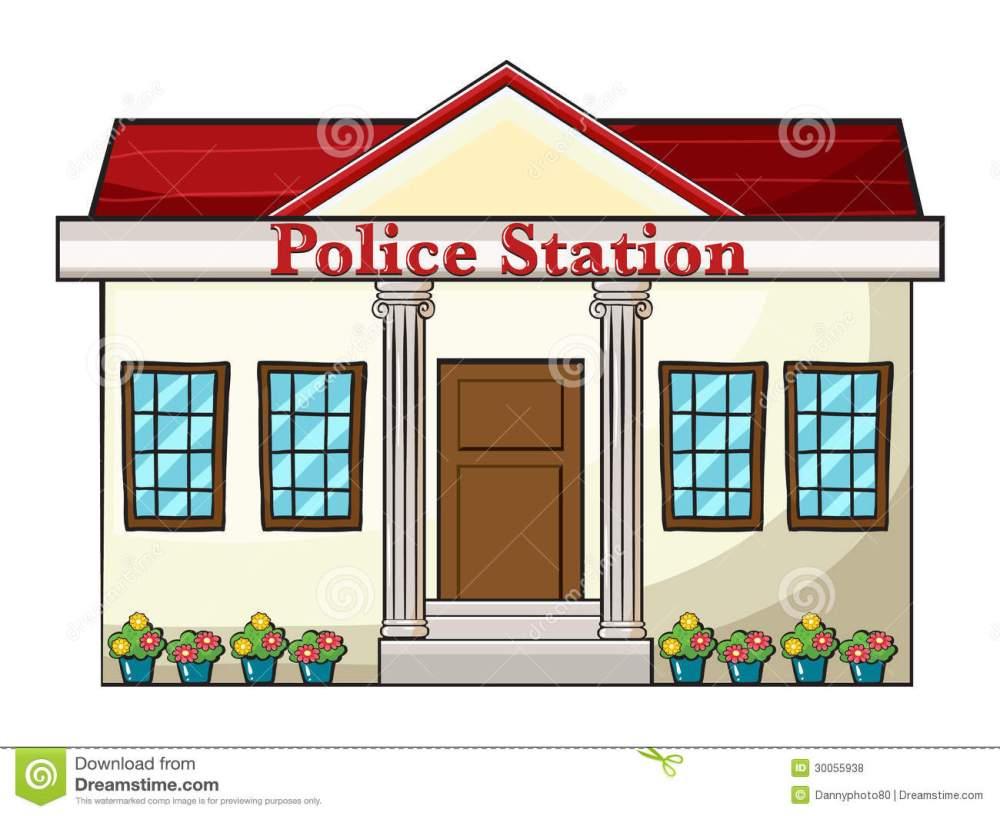medium resolution of clipart police station