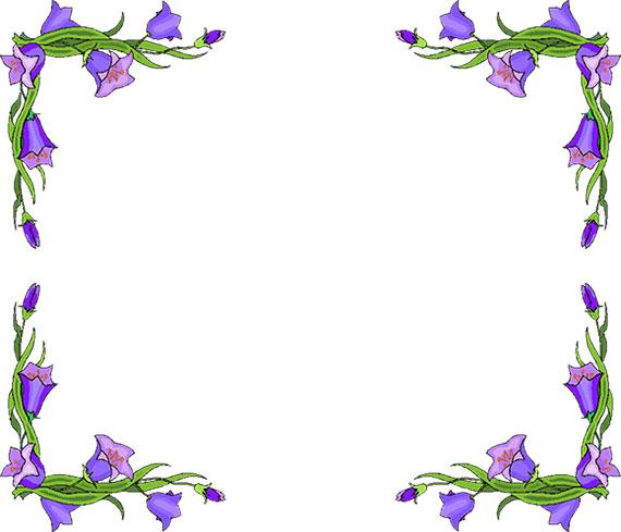 Clipart Flower Border Amp Look At Flower Border Clip Art