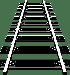 big image png railroad tracks clipart [ 2400 x 2186 Pixel ]