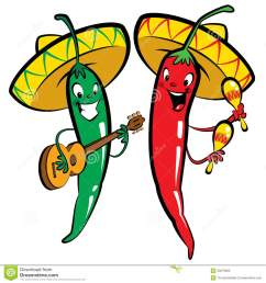 red and green hot chili chara chili pepper clipart [ 1300 x 1390 Pixel ]