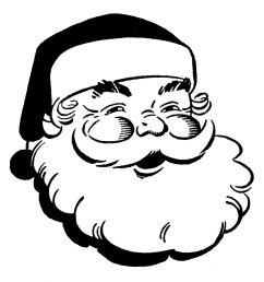religious christmas clipart b christmas black and white clipart [ 1447 x 1530 Pixel ]