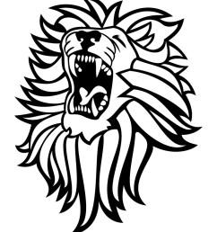roar clipart roaring lion clipart [ 1024 x 1024 Pixel ]