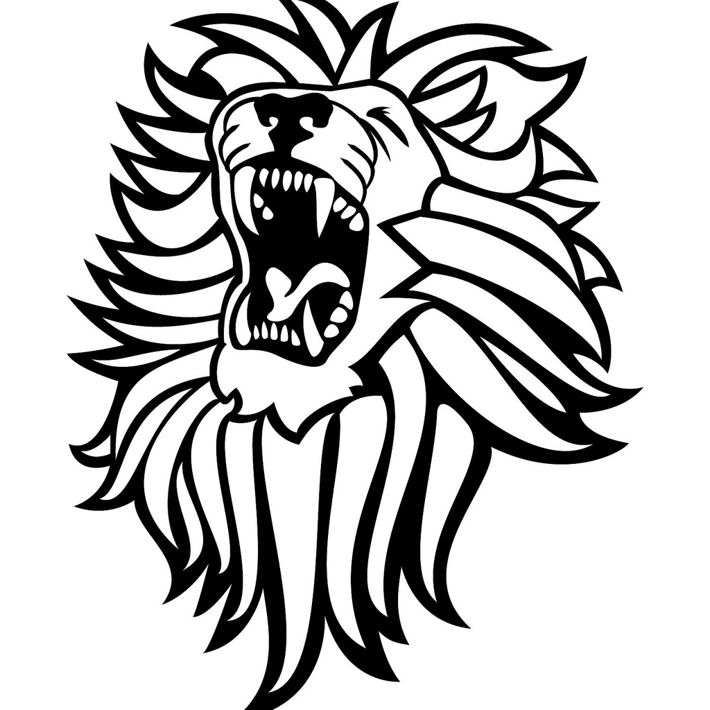 hight resolution of roar clipart roaring lion clipart