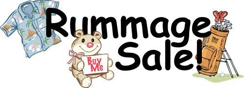 small resolution of clipart rummage sale