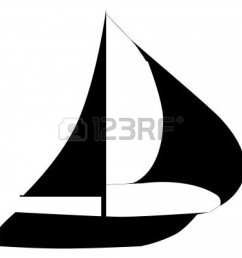 sailboat clipart silhouette sailboat silhouette clip art [ 1200 x 1200 Pixel ]