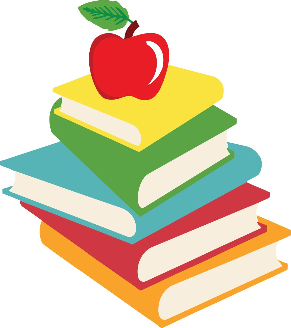 medium resolution of school books clipart