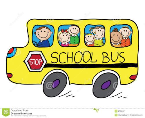 small resolution of school bus royalty free stock school bus clipart free