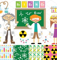 science clipart vector digita science clipart [ 2417 x 1608 Pixel ]