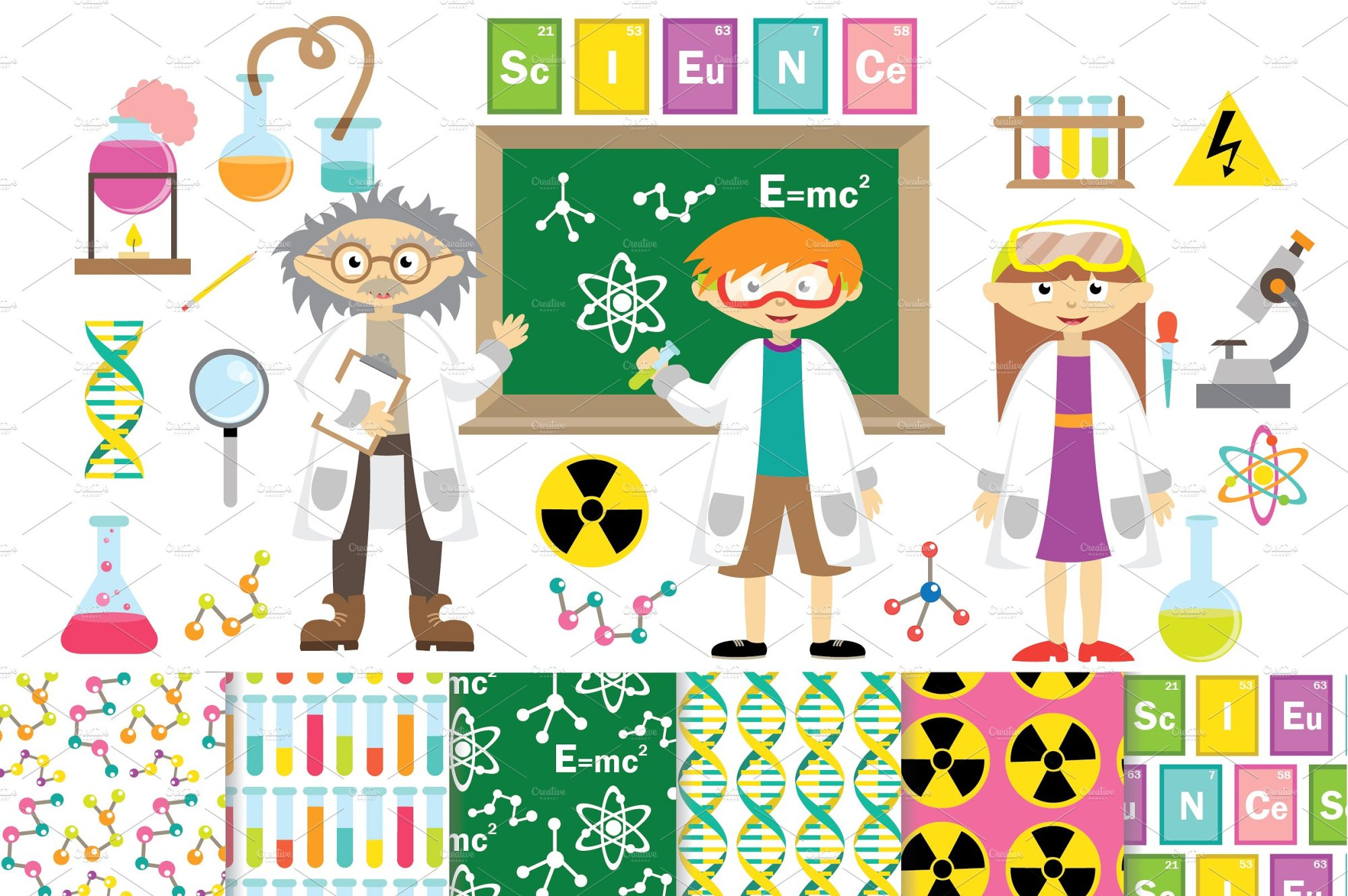 hight resolution of science clipart vector digita science clipart