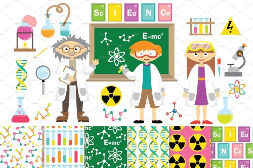 small resolution of science clipart vector digita science clipart