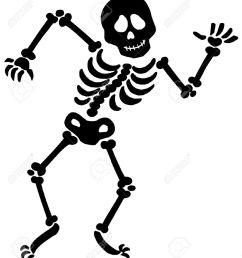 skeleton bones clipart 1 dancing skeleton silhouette  [ 1136 x 1300 Pixel ]