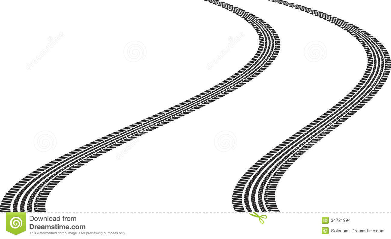 Tire Track Clipart Amp Look At Clip Art Images