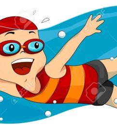 swim clipart [ 1300 x 642 Pixel ]