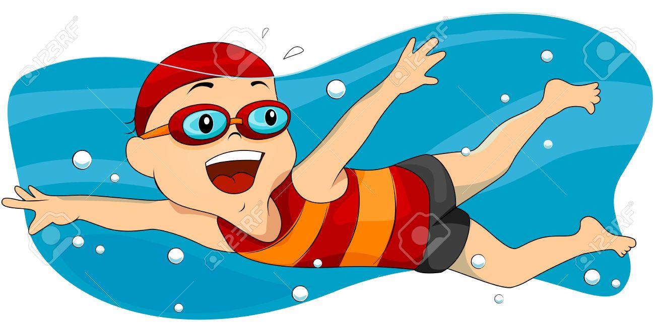 hight resolution of swim clipart