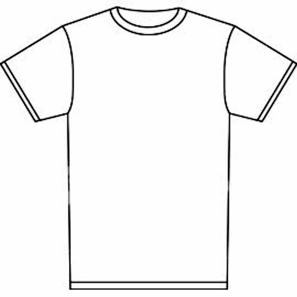 hight resolution of t shirt outline clipart t shirt clip art free