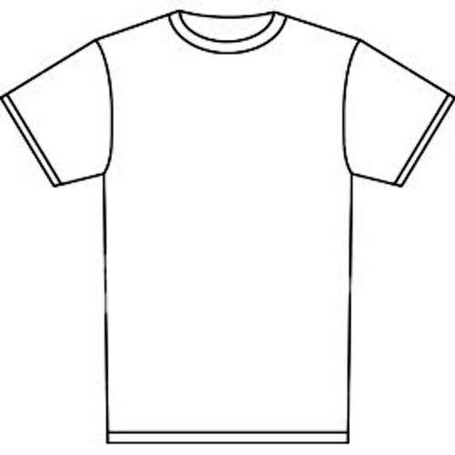 small resolution of t shirt outline clipart t shirt clip art free
