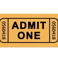 ticket clipart [ 1280 x 1024 Pixel ]