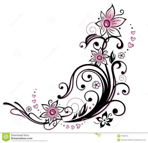 small resolution of clipart categories flower border clipart tribal flow