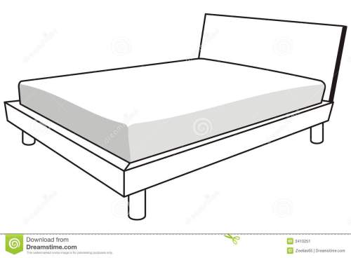 small resolution of clipart under the bed