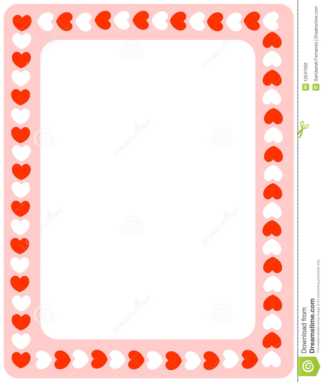 hight resolution of valentine heart border clipart red hearts valentines day