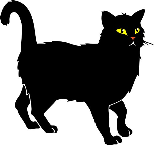 small resolution of clipart categories black cat clipart vector cat