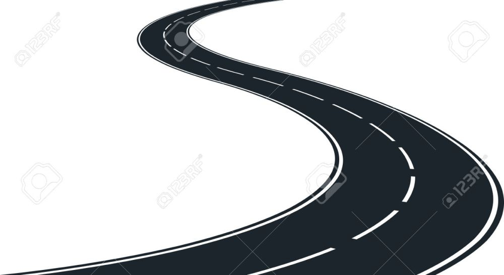medium resolution of vector isolated winding roa winding road clipart