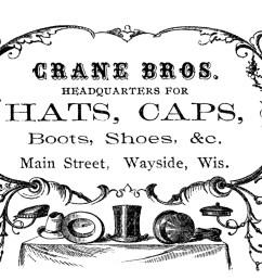 vintage advertising clip art victorian clipart [ 1600 x 1008 Pixel ]