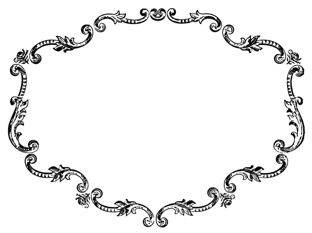 medium resolution of vintage picture frame clip ar vintage frame clipart