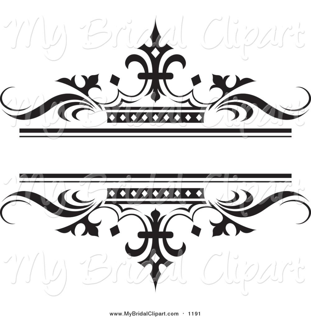 medium resolution of bridal clipart of a ornate bl wedding clipart
