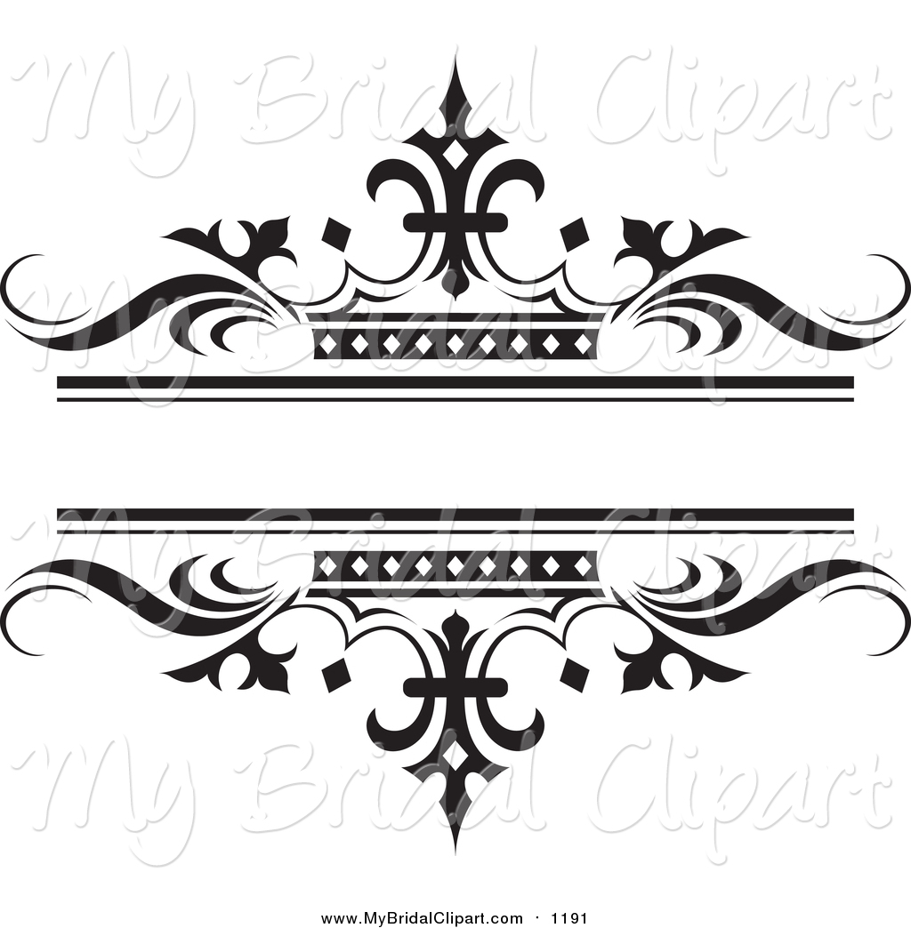 hight resolution of bridal clipart of a ornate bl wedding clipart