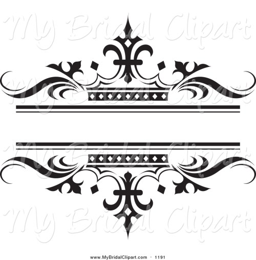 small resolution of bridal clipart of a ornate bl wedding clipart