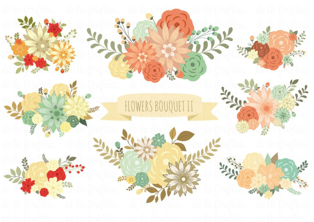 medium resolution of wedding floral clipart free floral clipart