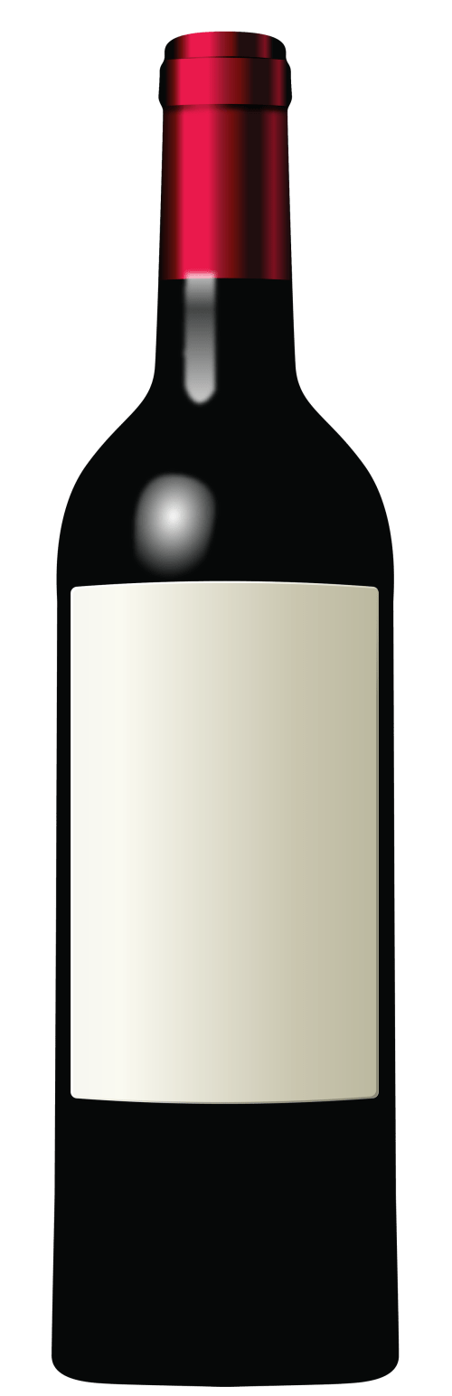 small resolution of wine bottle clipart the