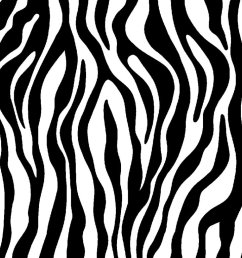 zebra print clipart [ 1024 x 768 Pixel ]