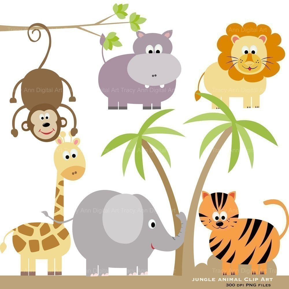 hight resolution of zoo animals clipart free larg safari animal clipart