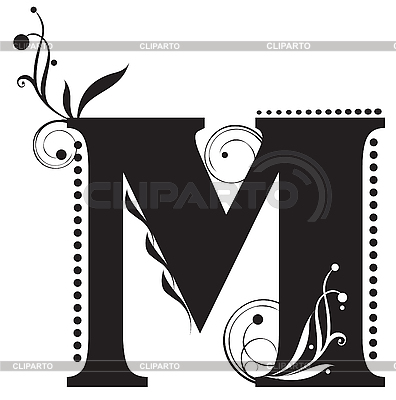Initial letters | Stock Photos and Vektor EPS Clipart | CLIPARTO / 3