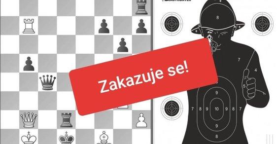 Je třeba zakázat šachy i střelbu do černého terče