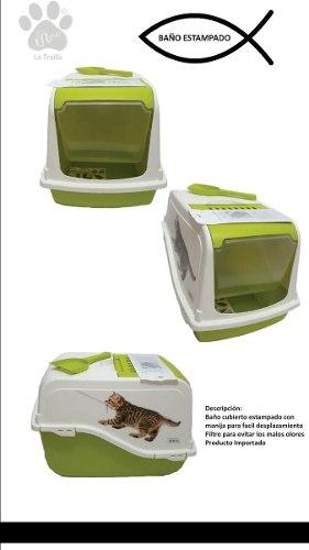 Arenera para gato con filtro de olor incluye  Posot Class