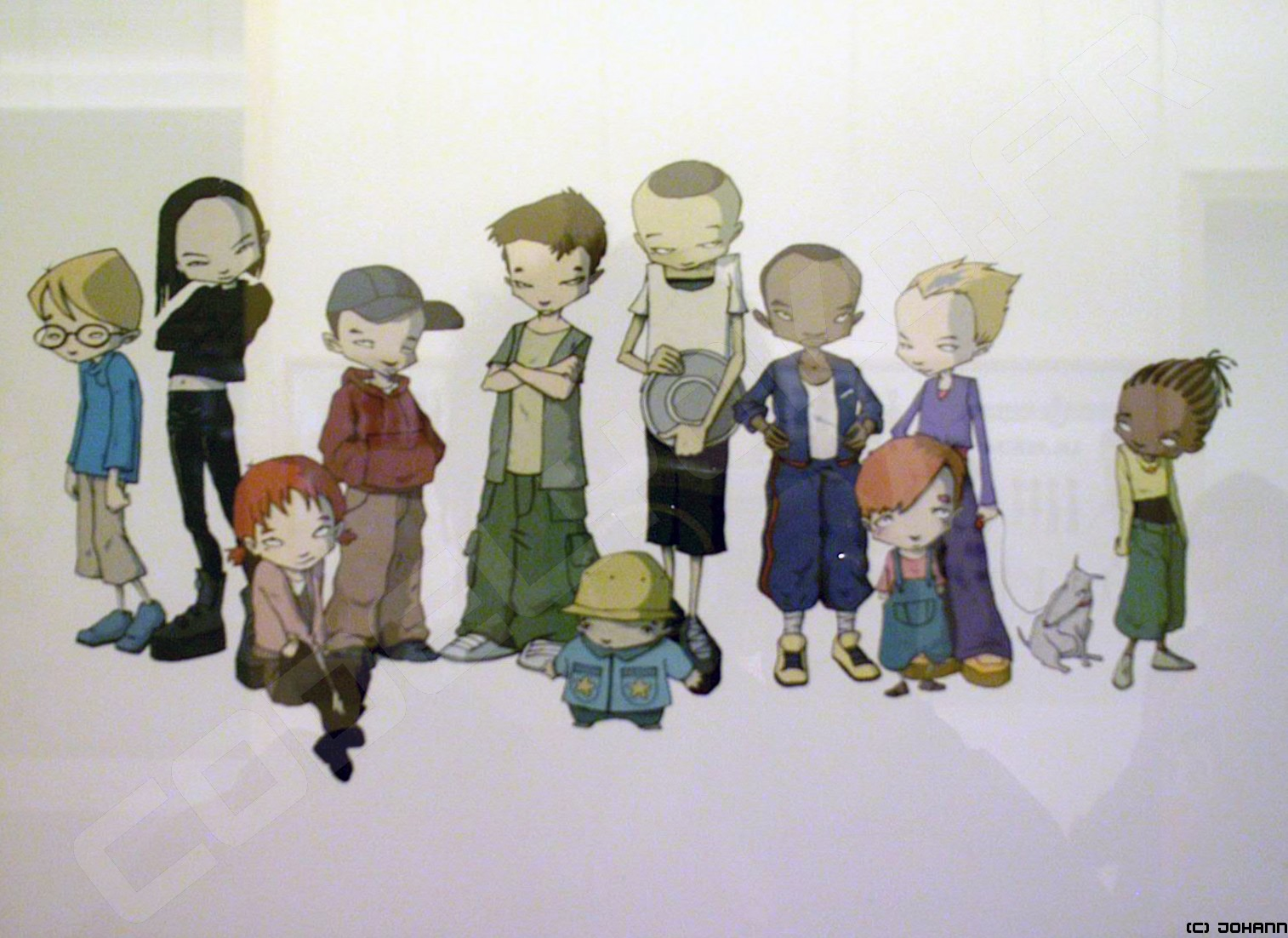 Yumi2004 Afficher Le Sujet Code Lyoko Meets Garage Kids