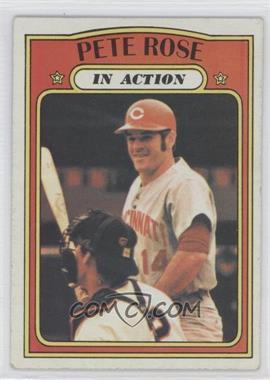 1972 Topps #560 - Pete Rose IA - Courtesy of COMC.com