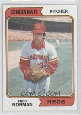 1974 Topps #581 - Fred Norman - Courtesy of COMC.com