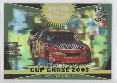 2003 Press Pass Cup Chase #CCR4 - Jeff Gordon - Courtesy of COMC.com
