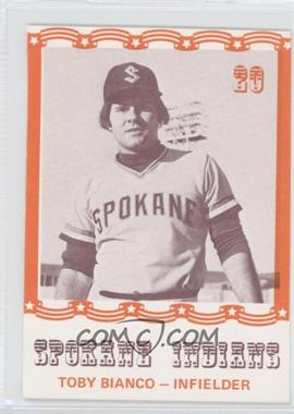 1976 Spokane Indians Caruso #20 - Toby Bianco - Courtesy of COMC.com